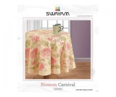 Get Best Offers on Printed Round Table Linen in India
