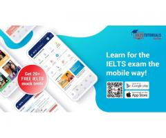 Learn wherever you go, whenever you want with the IELTS Tutorials Mobile App