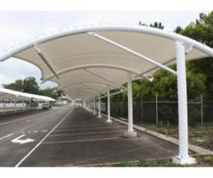 Tensile Car Parking Structure in Kerala