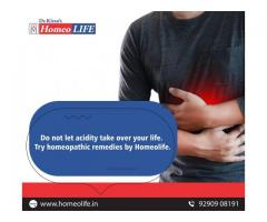 Homeopathic Treatment for Acidity |Gastric Problem | HomeoLife