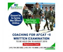 AFCAT-II COACHING | REGISTRATION IS OPEN