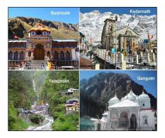 CHAR DHAM PILGRIMAGE TOUR | SACRED INDIAN YATRA 2019