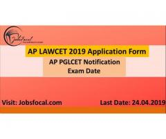 AP LAWCET 2019 Application Form | AP PGLCET 2019 Notification | Exam Date