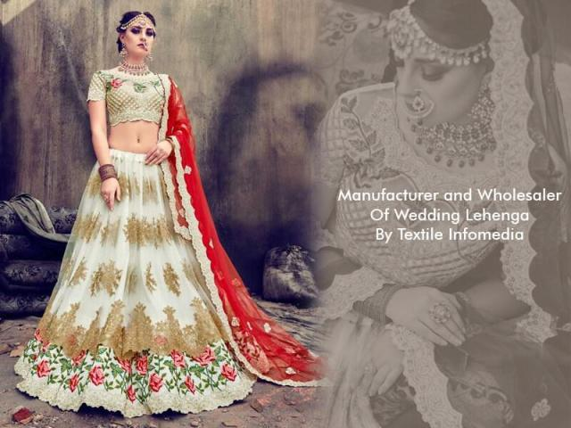 Wedding Lehenga Wholesalers | Bridal Lehenga Wholesalers from Textile Infomedia
