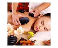 Hot stone massage by female in Navi Mumbai