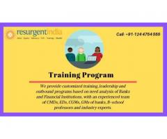 Resurgent India Limited provides a various training program