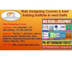 Web Designing Institute Delhi & Learn Web Designing Training