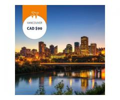 Edmonton - Vancouver Book flights from C$90
