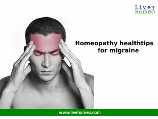 Homeopathy health tips for Migraine
