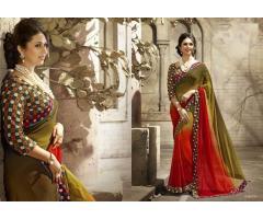 Fancy sarees wholesalers, manufacturers Mumbai from Textile Infomedia