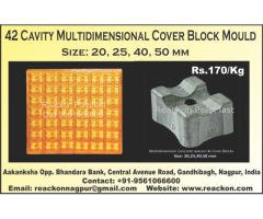 42 Cavity Multidimensional Cover Block Moulds