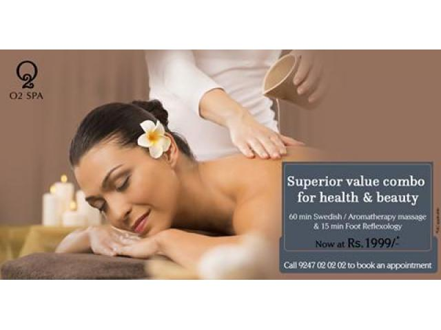 Spa in Hyderabad | Massage Services in Hyderabad | O2 Spa