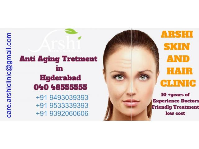 Anti Aging, Wrinkle Treatment | Best Cosmetologist in Hyderabad |Call-9533333302