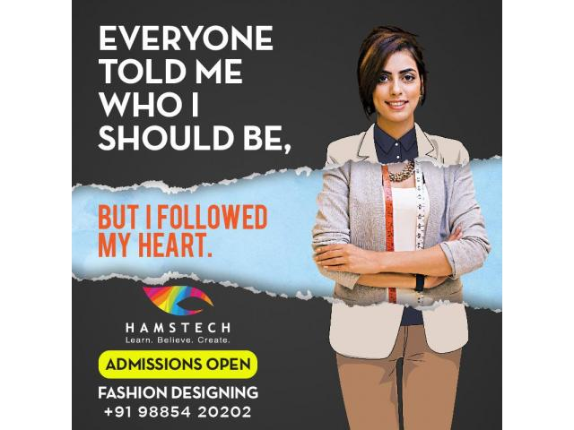Hamstech's Fashion Design Course – 1 Year Practical Training