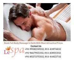 Best Body Massage Parlour in Jasola Delhi NCR - Le Spa