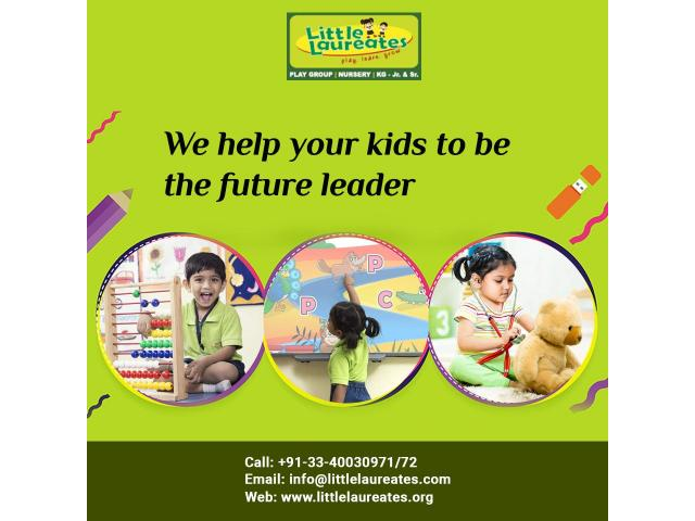 We Help Your Kids To Be Future Leader - Best Playschool in West Bengal