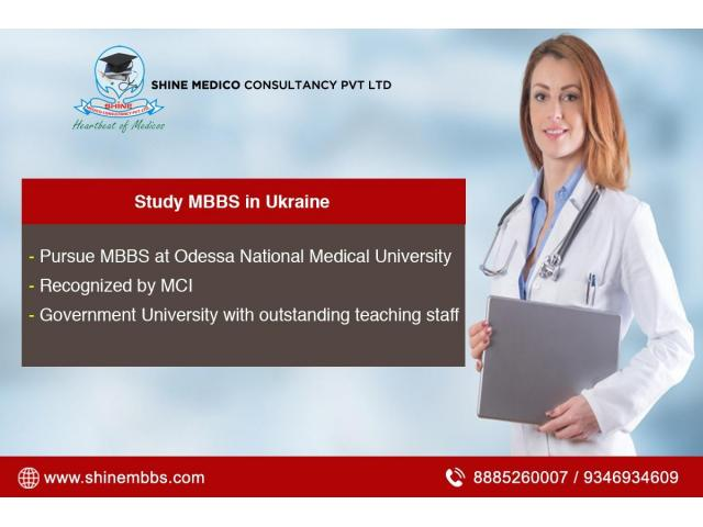 Study MBBS in Ukraine For Indian Students - Shine MBBS