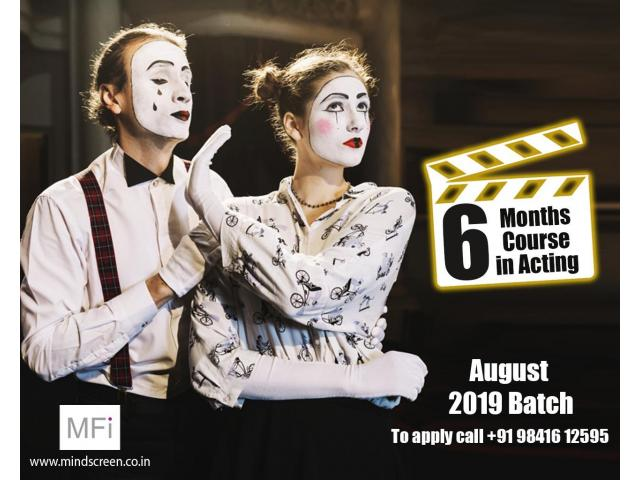 Acting Course at Mindscreen Film Institute