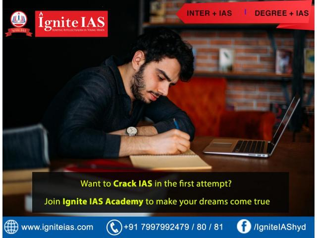 Top coaching center in Hyderabad for cracking IAS