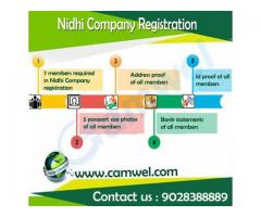 Nidhi Company Registration in 15 days