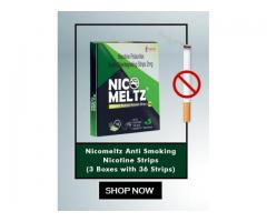 Nicomeltz:Buy Nicomeltz Anti Smoking Strips Online in India | Nicomeltz Strips