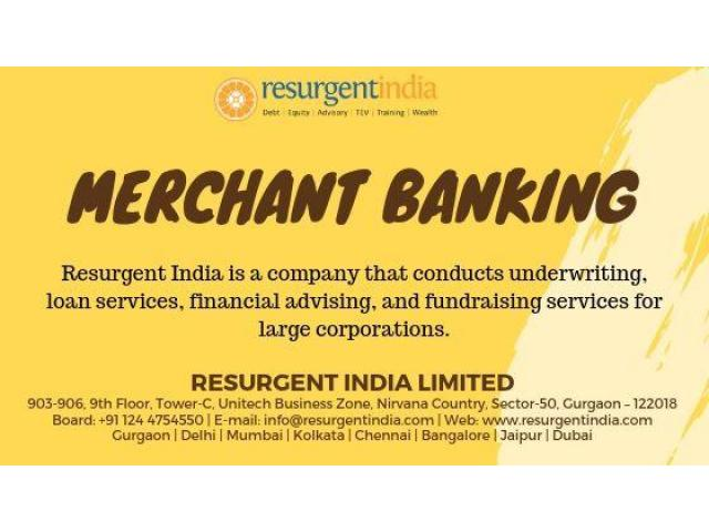 Resurgent India recognized as a leading merchant banking company in India