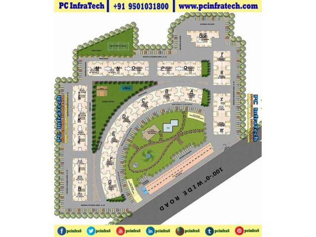 The Address New Chandigarh Mullanpur 3BHK Flats 9501031800