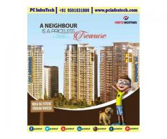 hero homes mohali address, 3bhk flats in sector 88 95O1O318OO