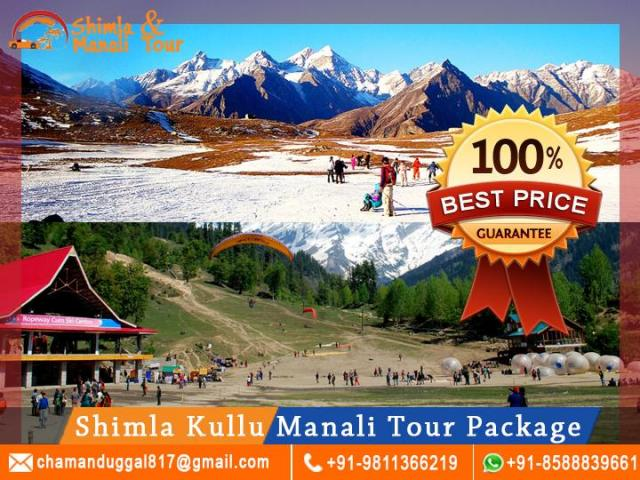 Shimla Kullu Manali Tour From Delhi By Car