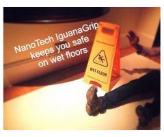 Iguana-grip Anti slip safety solutions for flooring.