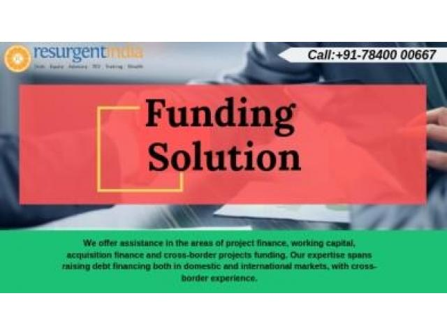 Resurgent India is one of the recognized leaders in real estate funding solutions