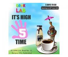 DRNK LAB the house of Shakes in Hyderabad