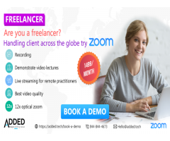 Are you a freelancer? Handling client across the globe try Zoom.