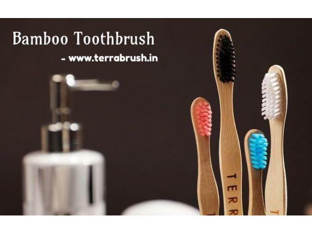 Buy Natural Bamboo Toothbrush Online