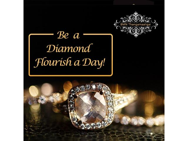 Buy Awesome Diamond Rings at BMN Thangamaaligai
