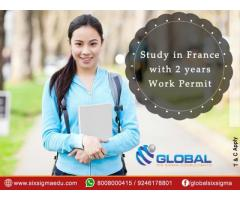 Top-rated consultancy to help students study masters in France for free | Global Six Sigma