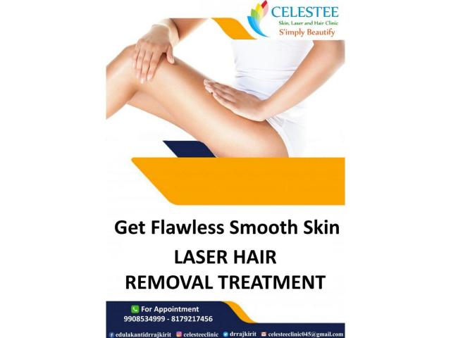 Advanced hair removal | Permanent Laser Hair Removal | FDA Approved Latest Technology