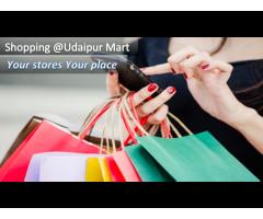 Udaipur shopping market