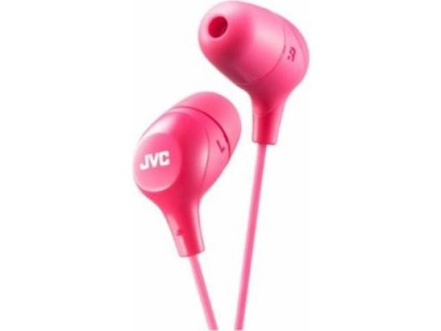 Buy JVC HAFX38P Pink Marshmallow HEADPHONES Original High Quality | Annova.co.in