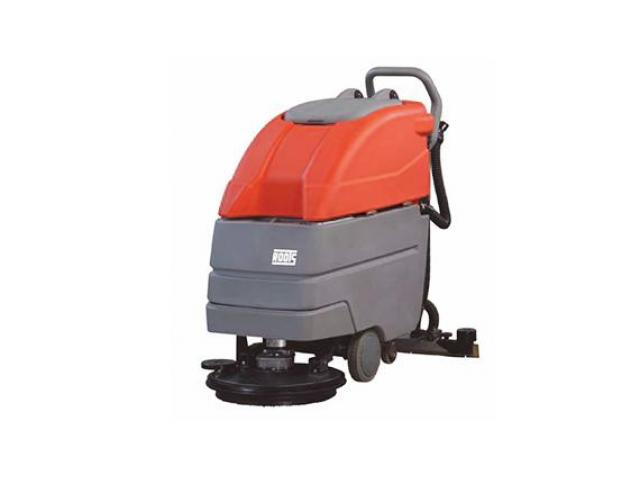 Scrubber Machine Floor Cleaning