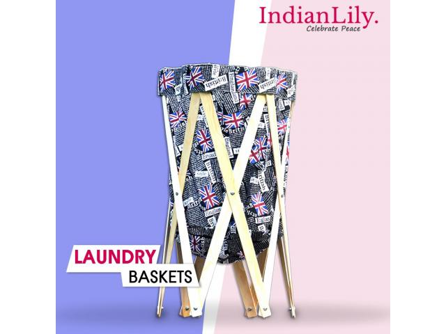 laundry bag online india | laundry baskets online | indianlily