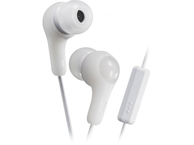 Buy White JVC HAFX7MW In-Ear Headphones with mic | Wired Earphone | Annova.co.in