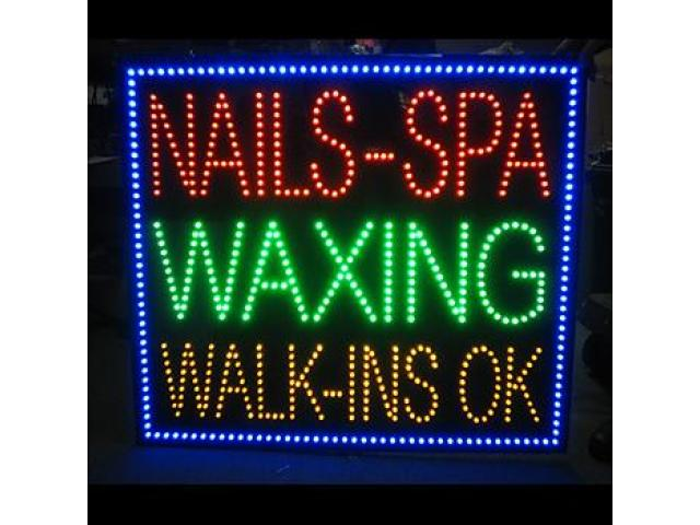 Custom text tool LED sign   Animated sign   -  Everything LED Signs