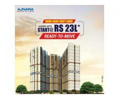 Ajnara Panorama  offers  3 BHK Apartments In Greater Noida