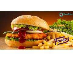 Faasos Coupons, Deals & Offers: Buy 1 Get 1 Free on Orders Over Rs.300
