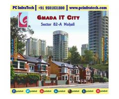 Gmada IT CITY Residential plots in Mohali 95O1O318OO