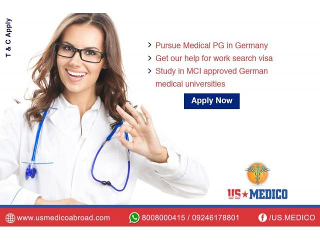 PG Medical Courses in Germany | PG Medicine in Germany