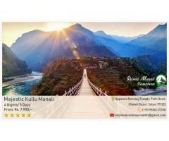 Kullu Manali Honeymoon Tour Package From Chandigarh by Volvo