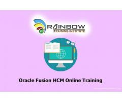 Oracle Fusion HCM Online Training | Oracle Fusion HCM Training
