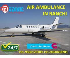 Avail Most Superior ICU Care by Medivic Air Ambulance Service in Ranchi